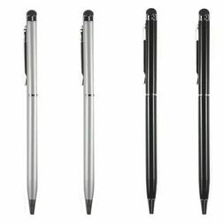 4X 2-in-1 Touch Screen Stylus + Ballpoint Pen For iPad iPhon