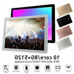 "10.1"" WiFi Tablet Bluetooth Android 9.0 HD 10 Core 8+512GB G"