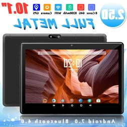 10.1'' Android 7.0 Tablet PC 4G+64GB Octa 8 Core HD Camera W