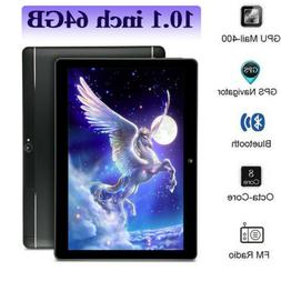 10.1 Android 8.1 Tablet PC 64GB Core 10 Inch HD WIFI 2 SIM 4