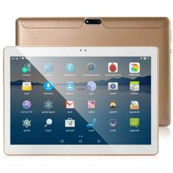 """10.1"""" ANDROID 7.0 TABLET playstore PC 3G Dual SIM 16GB 8 COR"""