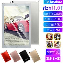 10.1 in 8+128GB 4G-LTE Tablet PC IPS HD Screen Dual Card Pho