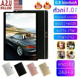 10.1 Inch HD Game Tablet Computer Android 8.0 Ten Core PC GP