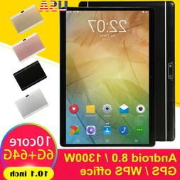 10.1 Inch HD Game Tablet Computer PC Android 8.0 Ten-Core GP
