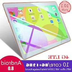 10.1 Inch Tablet PC 4G-LTE Game Computer Android 8.0 8+128GB