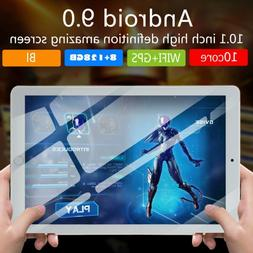 10.1 Inch Ten-Core 8GB+128GB Tablet PC Android 8.0 HD Touch
