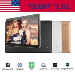 10.1'' Tablet Android 7.0 PC 64GB Core 10 Inch HD WIFI 2 SIM