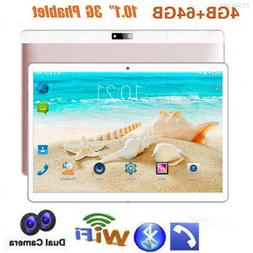 "10.1"" Tablet PC 4G+64G Android 7.0 Octa-Core Dual SIM &Camer"