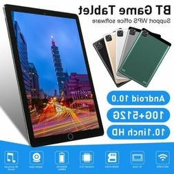 """2020 10.1"""" WIFI Tablet Android 10.0 10G+512G 10 Core PC Goog"""
