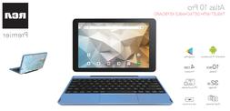 RCA 10 Inch Android Tablet with Keyboard 32GB