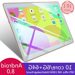 10 Inch HD 1080P Game Tablet Computer PC 6+64G GPS 3G Wifi D