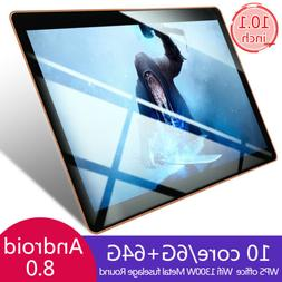 10 Inch HD Game Tablet Computer PC Ten Core Android 8.0 GPS