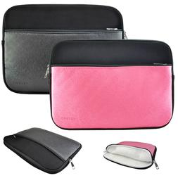 """10"""" Inch Sleeve Metallic Carrying Case Cover Bag for 10"""" - 1"""