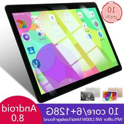 """10"""" inch Tablet PC 6+128GB Android 8.0 Dual SIM Dual Camera"""