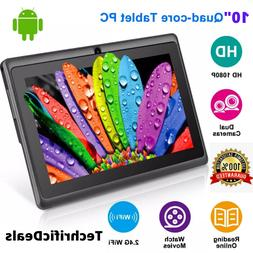 """10"""" Inch Tablet PC Android Quad Core 16GB/32GB HD WIFI Dual"""