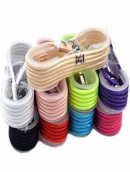 10-Pack 5FT Heavy Duty USB Braided Charger Cable Cord for Ph