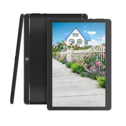 10''Tablet PC Android6.0 Quad Core 4G RAM 64G ROM HD WIFI Du