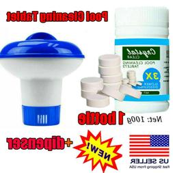 100g Swimming Pool Cleaning Tablets Water Chlorine Chemical