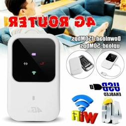 150Mbps 4G Wireless Router With SIM Card Slot USB Charging F