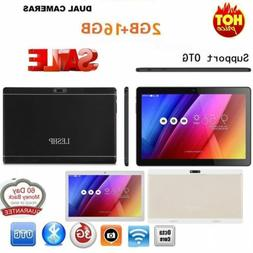 16GB 10 Inch HD WIFI 3G Phone Phablet 10.1'' Tablet PC Andro