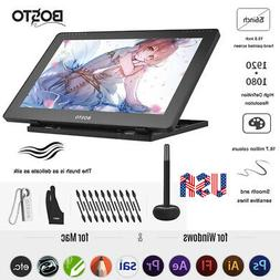BOSTO 16HD 15.6 Inch IPS Graphics Drawing Tablet Display 819
