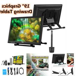 """19""""Ugee 1910B Art Drawing Graphics Pen Tablet Monitor Screen"""
