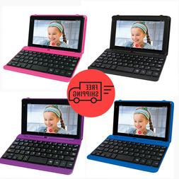 """2 in 1 Laptop Tablet PC 7"""" Small Android Touchscreen w Keybo"""