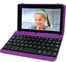 """2 in 1 Laptop Tablet PC 7"""" Android Touchscreen w Keyboard Ca"""