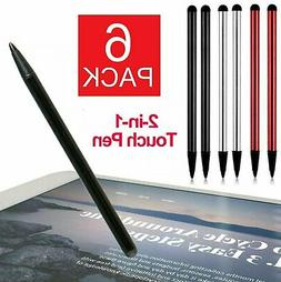 2 in 1 Universal Stylus Touch Screen Pen for iPhone iPad Sam