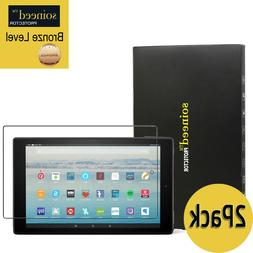 """SOINEED Amazon Fire HD 10 Tablet 10.1"""" Tempered Glass Scree"""