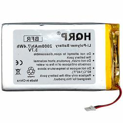 2000mAh Replacement Battery for RCA Voyager II 8GB 7-Inch To