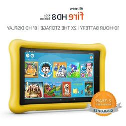 2018 All-New Fire HD 8th Kids Edition Tablet, 8 inch HD Disp