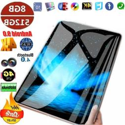"""2020 10.1"""" WIFI Tablet Android 8.0 HD 8G+512G 10 Core PC Goo"""