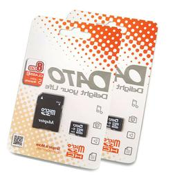 2x 8GB TF Memory Card with Adapter Micro SD Card for SmartPh