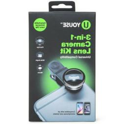 Youse 3-in-1 Camera Lens Kit for Smarphones and Tablets Andr