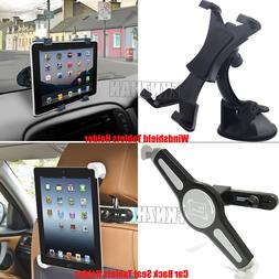 360° Car Windshield Car Back Seat Headrest Trestle For iPad