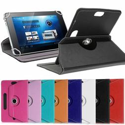 360 8in Folio PU Leather Case Cover For Universal Android Ta