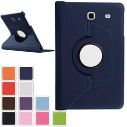 360 PU Leather Cover Folio Stand For Samsung Galaxy Tab A 7.