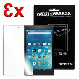 3pcs Clear Screen Protector for New Amazon Fire HD 8 7th Gen