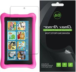 3X Dmax Armor Clear Screen Protector for Fire 7 Kids Edition