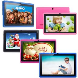 "7"" 16GB Android 4.4 Quad Core Camera WIFI Tablet For Kids BE"
