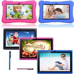 "7"" 16GB Quad Core Camera WIFI Tablet For Kids Bundle Case Be"