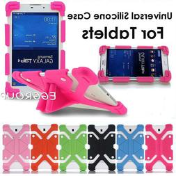 """For 7"""" 8"""" 9"""" 10"""" 10.1"""" inch Tablet Shockproof Universal Sili"""