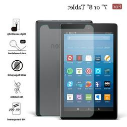 """7"""" / 8 inch Universal Tempered Glass Screen Protector For Ta"""