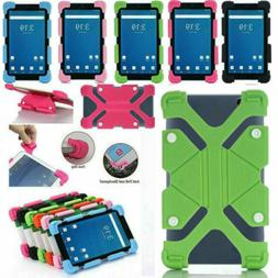 For 7 - 8 inch Tablet PC Shockproof Silicone Case Cover Univ