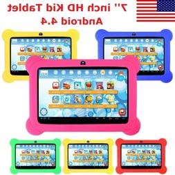 7'' inch Android 4.4 Kid Tablet HD Quad Core KitKat Dual Cam