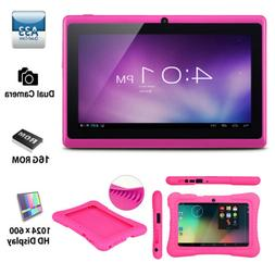 """7"""" inch Android 4.4 Quad Core 16GB HD WIFI Tablet PC Bundle"""
