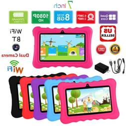 """7"""" inch HD Quad Core Tablet PC For Kids Android 8GB WIFI Bun"""