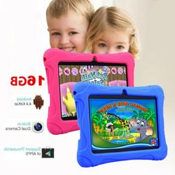 "7"" 16GB Kids Tablet Android Dual Camera WiFi Education Game"