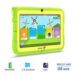 7'' inch Quad Core HD Tablet for Kids Android 4.4 KitKat Dua